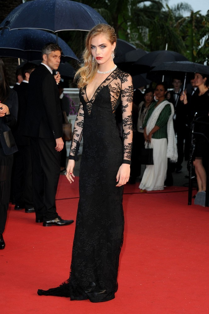 Cara Delevingne - Arrivals at the Cannes Opening Ceremony — Part 4