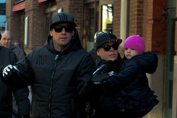 Carey Hart Pink and Her Family Take a Stroll in NYC