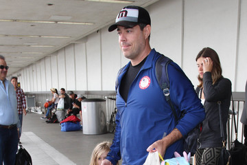 Carson Daly Carson Daly and His Family Are Seen at LAX
