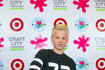 Carson Lueders Karina Garcia's Launch Party at UTA