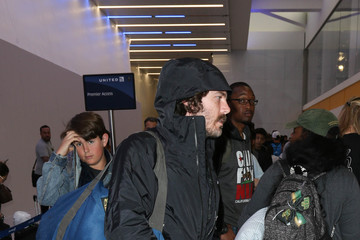 Casey Affleck Casey Affleck Spotted at LAX