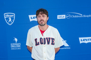 Casey Affleck Clayton Kershaw's 5th Annual Ping Pong 4 Purpose Celebrity Tournament