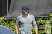 Casey Affleck out and about