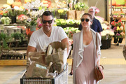 Cash Warren and Jessica Alba Shop at Whole Foods