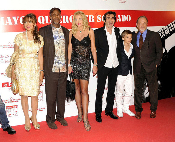 'I Want to be a Soldier' premiere