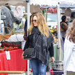 Catherine Bach Catherine Bach Shops At Farmer's Market In Studio City