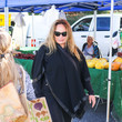 Catherine Bach Catherine Bach At The Farmer's Market In Studio City