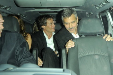 George Clooney Celebrities at Spirit launch after party
