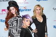 Sham Ibrahim, Phoebe Price and Tess Broussard are seen attending the Love Ball at Sofitel Hotel .