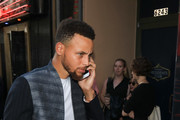 Stephen Curry Goes to See 'Hamilton'