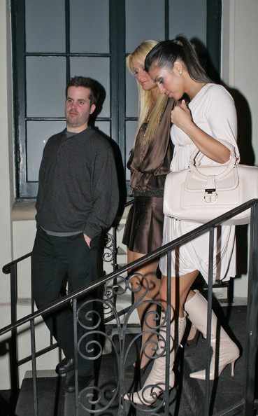 Kim Kardashian Celebs come and go from the latest hotspot 'Social' in Hollywood.