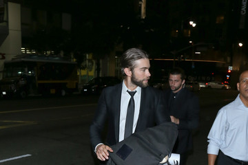 Chace Crawford Celebrity Sightings at Montalban Theatre