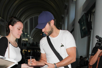 Chace Crawford Chace Crawford at LAX