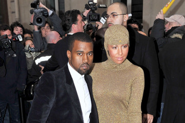 Kanye West Amber Rose Chanel 2010 Couture Show