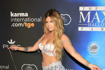 Chanel West Coast Maxim Magazine's Annual Halloween Party