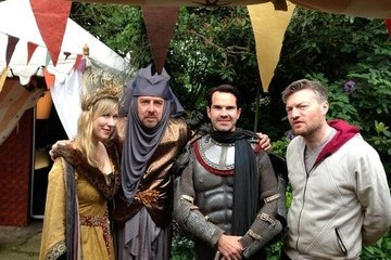 Charlie Brooker Jonathan Ross Throws a 'Game of Thrones' Party