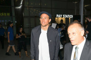 Charlie Hunnam is seen in Los Angeles, California.