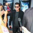 Charlie Sheen Charlie Sheen Outside ArcLight Theatre In Culver City
