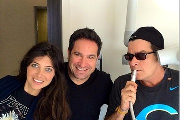 Charlie Sheen Celebrity Social Media Pics