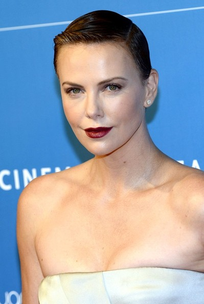 Charlize Theron New Haircut 2013