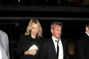 Charlize Theron Sean Penn and Charlize Theron at Royal Festival Hall