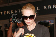 Charlize Theron Is Seen at LAX