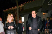 Chazz Palminteri and Gianna Palminteri are seen in Los Angeles, California.