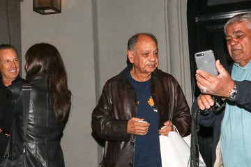 Cheech Marin Cheech Marin Outside Craig's Restaurant In West Hollywood