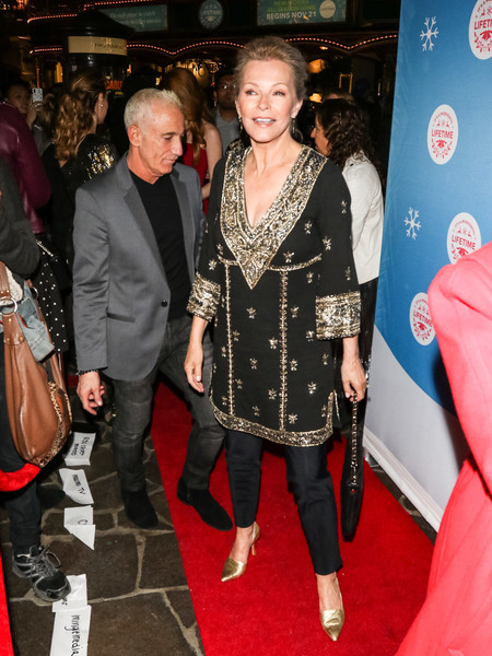 The Stars Of Lifetime's Christmas Movies Celebrate The Opening Night Of The Life-Sized Gingerbread House Experience At The Grove