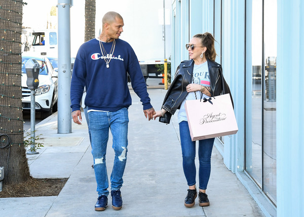 Chloe Green and Jeremy Meeks Step Out in Los Angeles