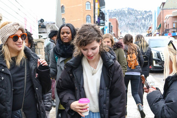 Chloe Levine Chloe Levine Is Seen At Sundance Film Festival In Park City