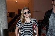 Chloe Grace Moretz Arrives at LAX