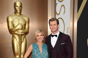 Chris Hemsworth Arrivals at the 86th Annual Academy Awards