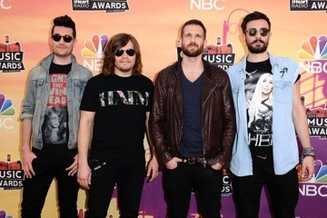 Chris Wood Dan Smith Arrivals at the iHeartRadio Music Awards