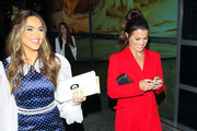 Chrishell Hartley and Melissa Claire Egan are seen in Los Angeles, California.