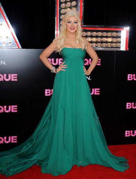 christina aguilera burlesque green dress scene. soundtrack, Christina