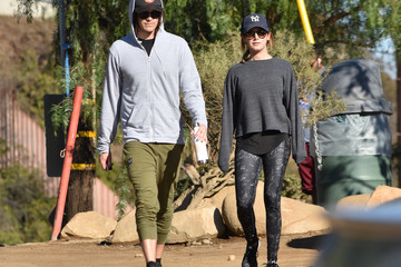 Christopher French Christopher French and Ashley Tisdale Hike Together