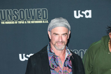 Christopher Meloni Premiere Of USA Network's 'Unsolved: The Murders Of Tupac And The Notorious B.I.G.'