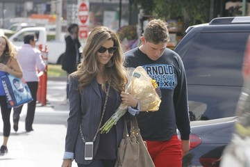 Christopher Schwarzenegger Maria Shriver Spends Time with Her Son