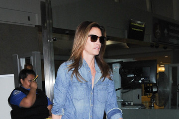 Cindy Crawford Cindy Crawford Is Seen at LAX