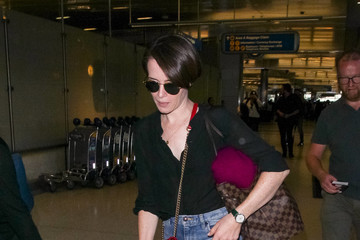 Claire Foy Claire Foy At LAX International Airport