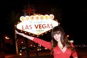 Claire Sinclair hangs out in Las Vegas on October 2, 2013.