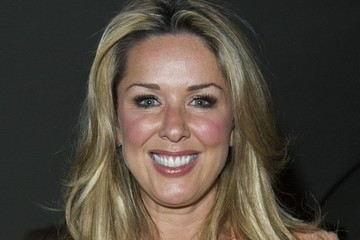 Claire Sweeney Arrivals at 'The West End Men in Concert'