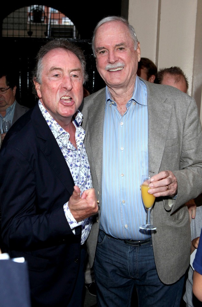 John cleese and eric idle reunite pictures