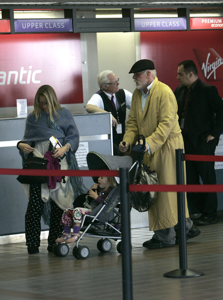 Nick Nolte at LAX