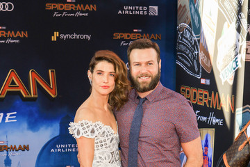 Cobie Smulders Taran Killam Premiere of Sony Pictures' 'Spider-Man Far From Home'