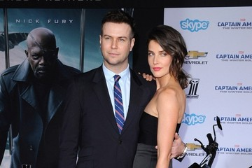 Cobie Smulders 'Captain America: The Winter Soldier' Premiere