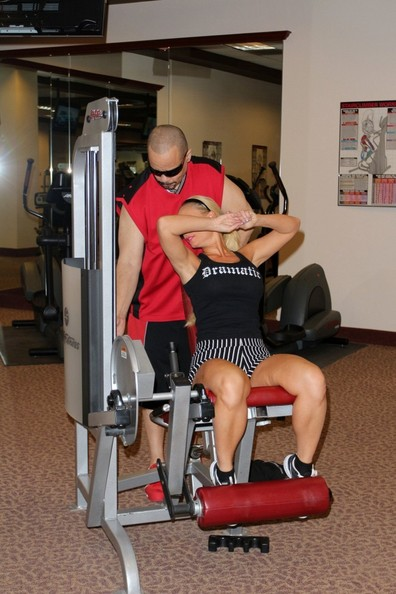 Ice T And Coco Austin Work It Out