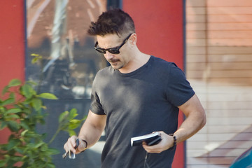 Colin Farrell Colin Farrell Out and About