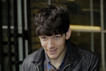Colin Morgan Colin Morgan at the London Studios